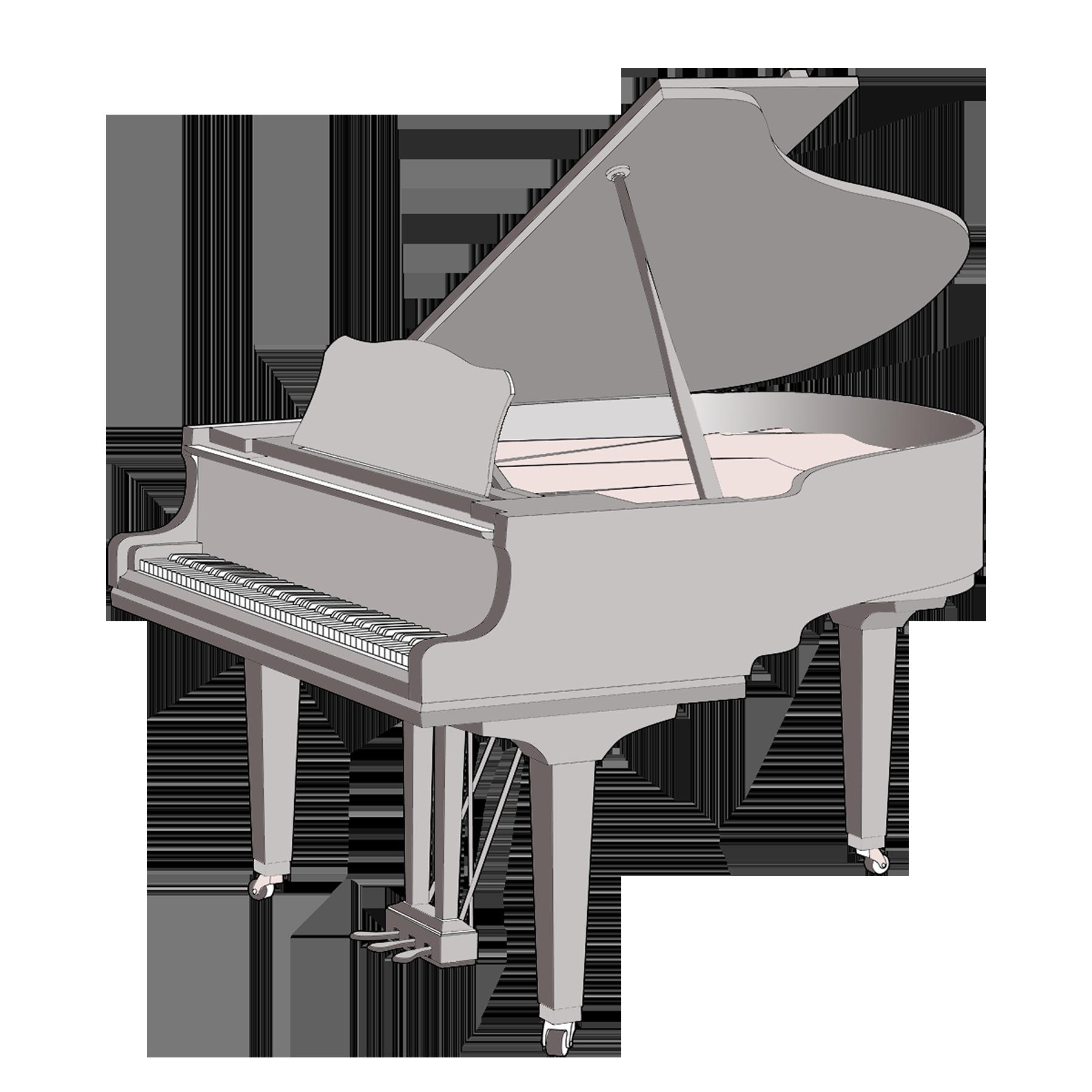 Grand Piano Sizes