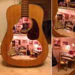 Guitar dool house