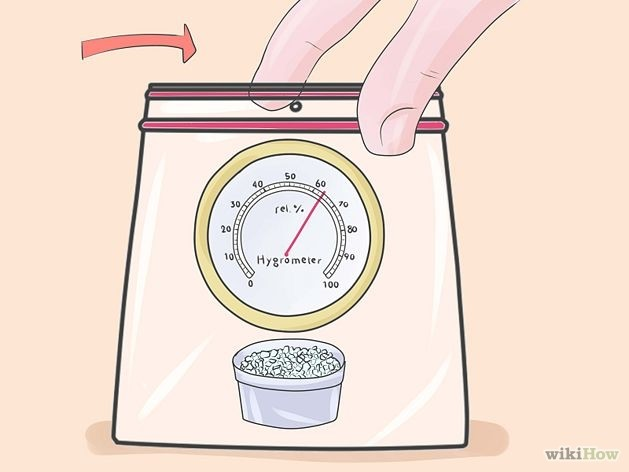 step 3 hygrometer test