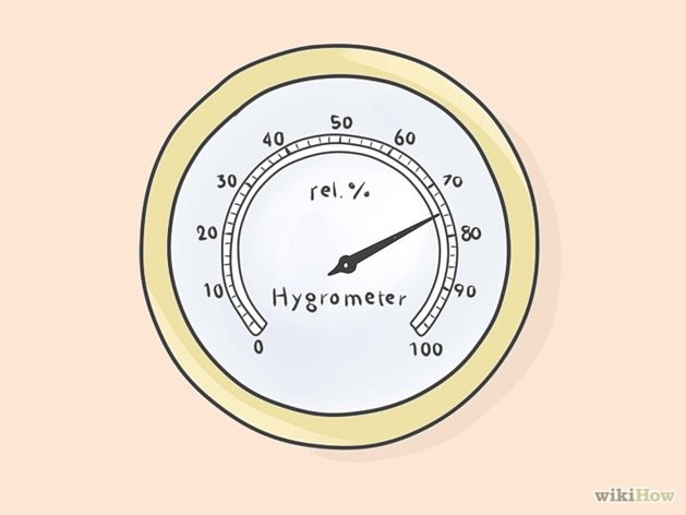 step 5 hygrometer test