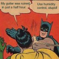 Batman Robin use humidity control
