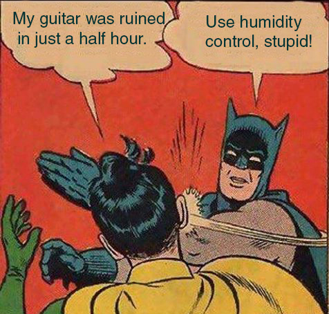 Humidity Ruined This Guitar in Just Half an Hour